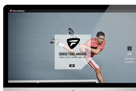 Tecnifibre website
