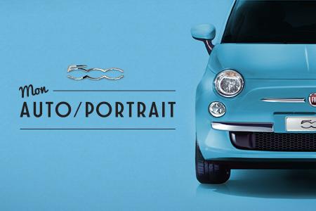 Fiat 500 – Mon auto/portrait